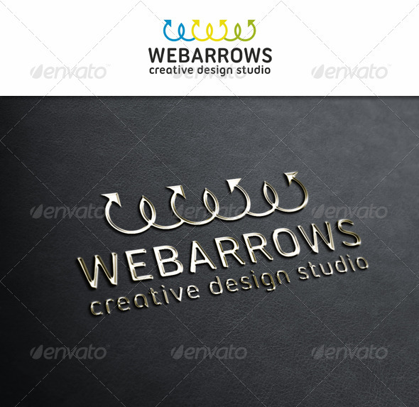 Web Arrows - Symbols Logo Templates