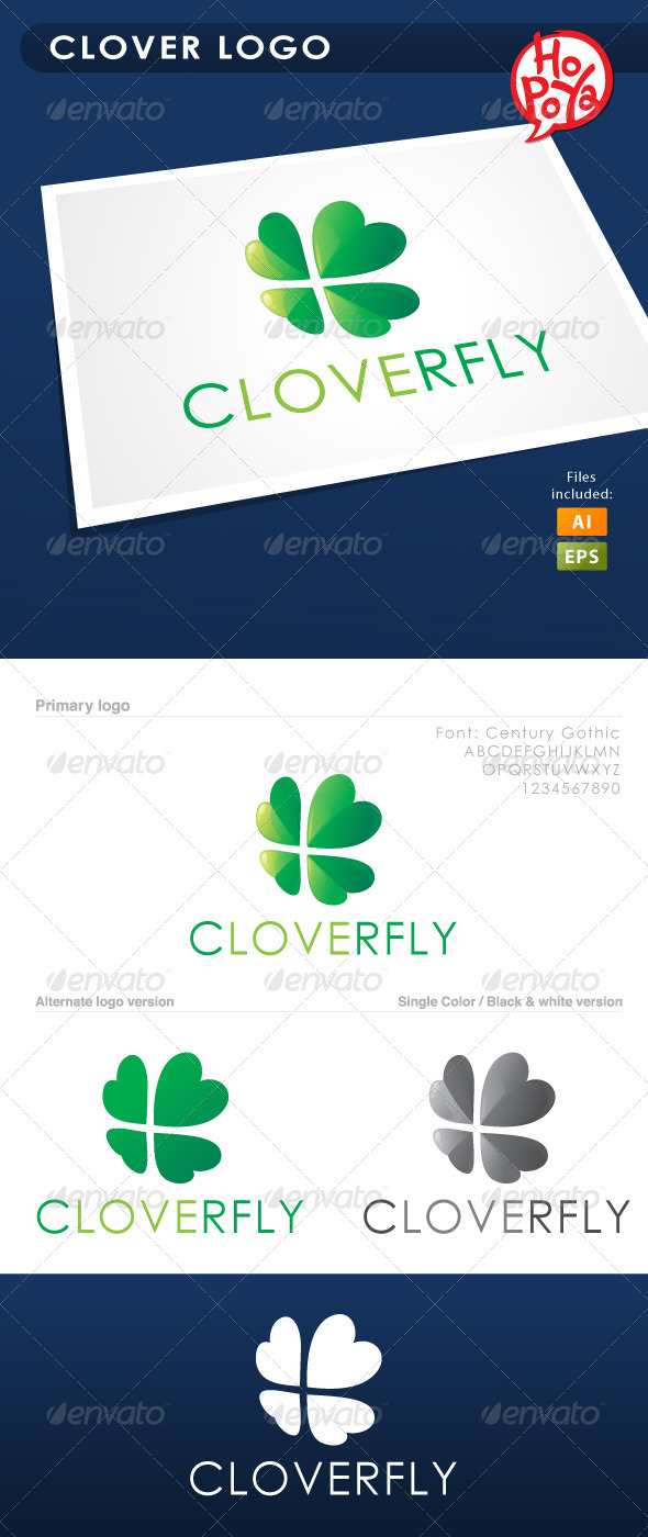 Clover Logo - Symbols Logo Templates