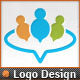 Circle Applications Social Chat People Finder Logo - GraphicRiver Item for Sale