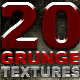20 High Res Grunge Textures - GraphicRiver Item for Sale
