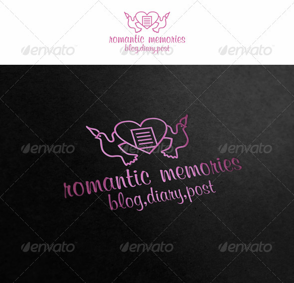 GraphicRiver Romantic Memories Logo 2523948