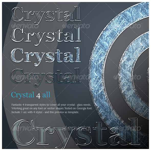 Crystal 4 all - Photoshop Add-ons