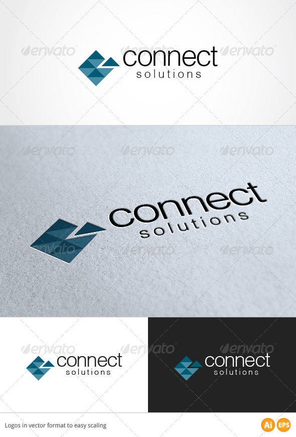Connect Logo - Symbols Logo Templates