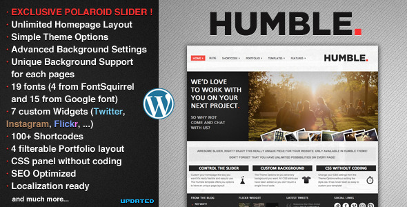 Humble - Portfolio and Business Theme