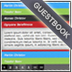 Colorful Guestbook - ActiveDen Item for Sale