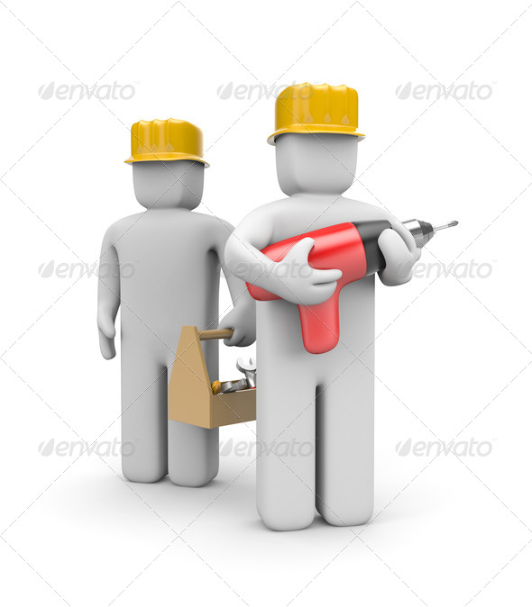 Workers team - Stock Photo - Images