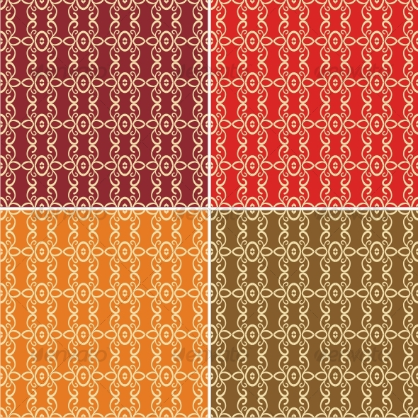 Vector seamless patterns - Backgrounds Decorative