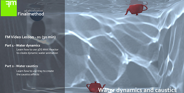 TutsPlus Water Caustics in 3D Studio Max & Vray 283455