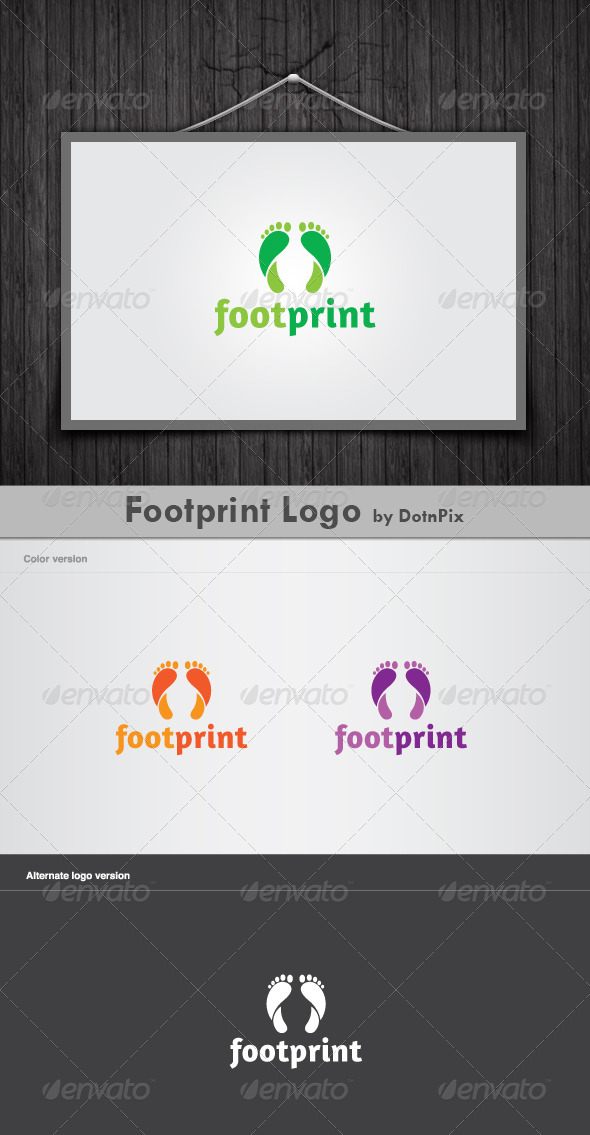 Footprint Logo - Nature Logo Templates