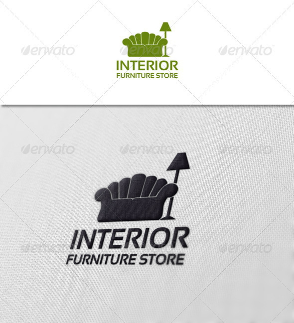 Interior - Furniture Store - Objects Logo Templates