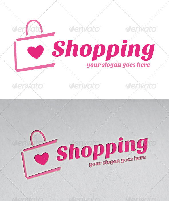 Love Shopping Logo - Symbols Logo Templates