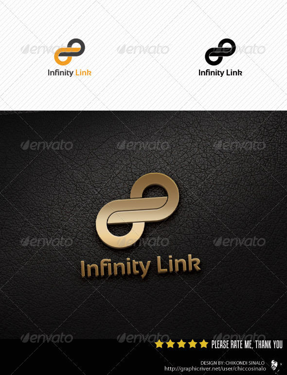 Infinty Link Logo Template - Abstract Logo Templates