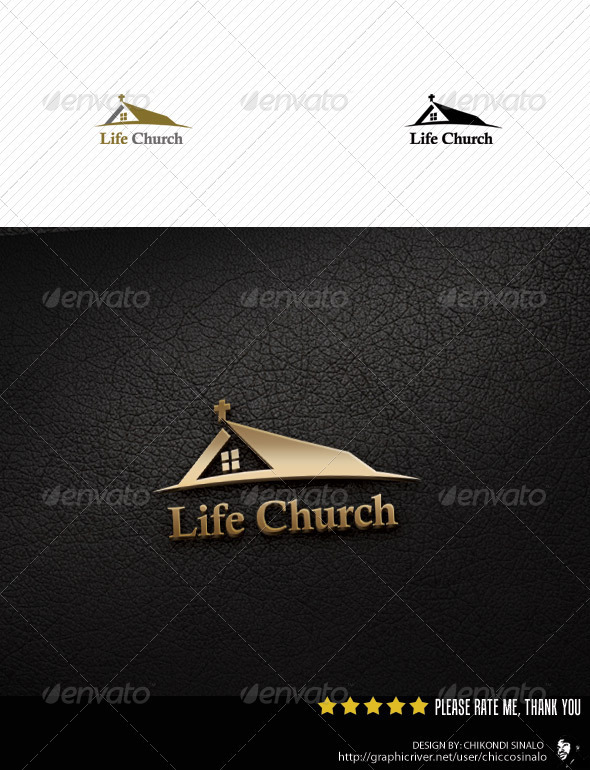 Life Church Logo Template - Buildings Logo Templates