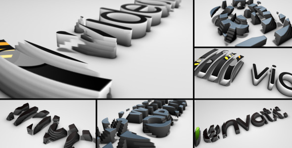 After Effects Project - VideoHive Logo Extrusions 2532449