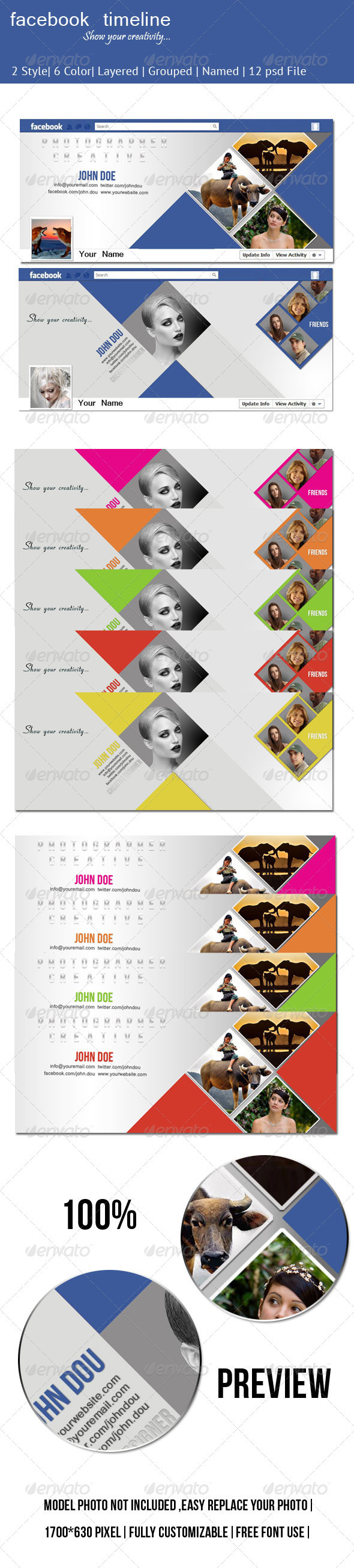 GraphicRiver Facebook Timeline 2512052