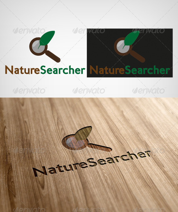 Nature Searcher - Nature Logo Templates