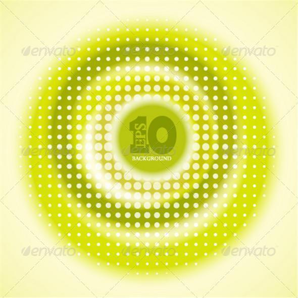 Vector Creative Circle Yellow Background - Backgrounds Decorative
