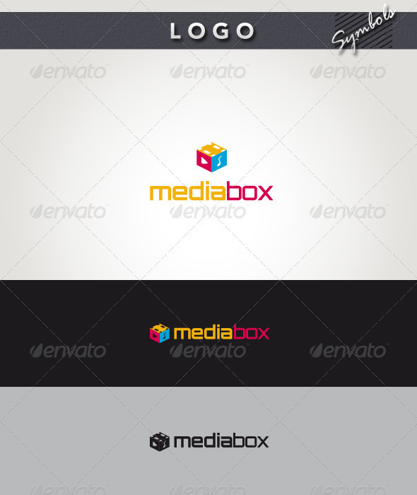 Media Box Logo - Symbols Logo Templates