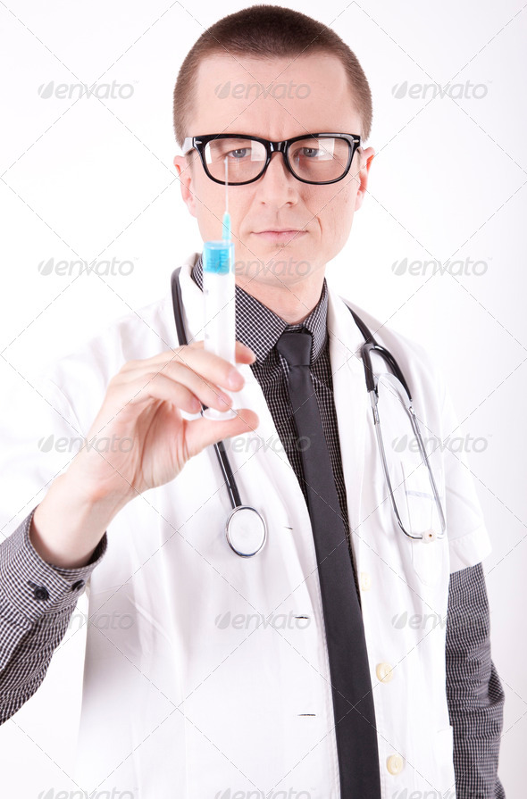 Young male doctor - Stock Photo - Images