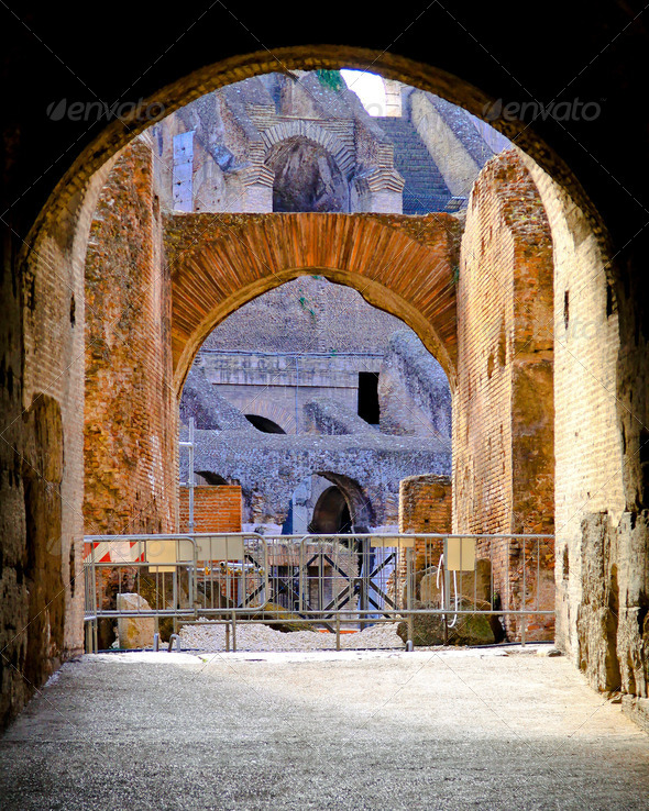 Coliseum Rome - Stock Photo - Images