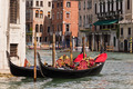 Gondolas on Venice Grand Canal - PhotoDune Item for Sale