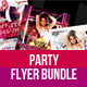 Awsome Party Flyer Bundle - GraphicRiver Item for Sale