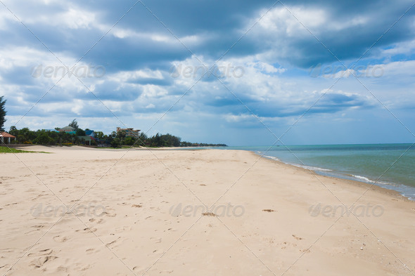 sand of beach - Stock Photo - Images