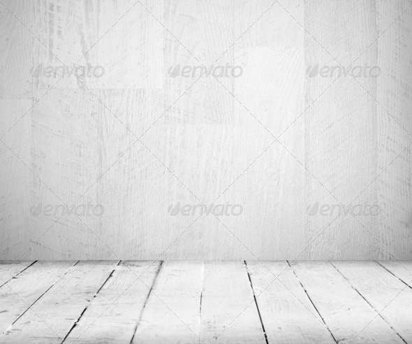 Vintage wooden plank background - Stock Photo - Images