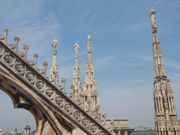 Duomo, Milan - Stock Photo - Images