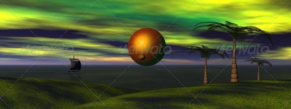 sun and venus - Stock Photo - Images