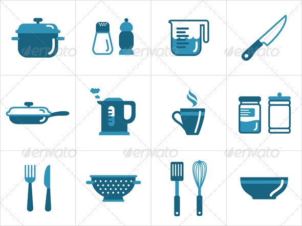 Kitchen Icons - Objects Icons