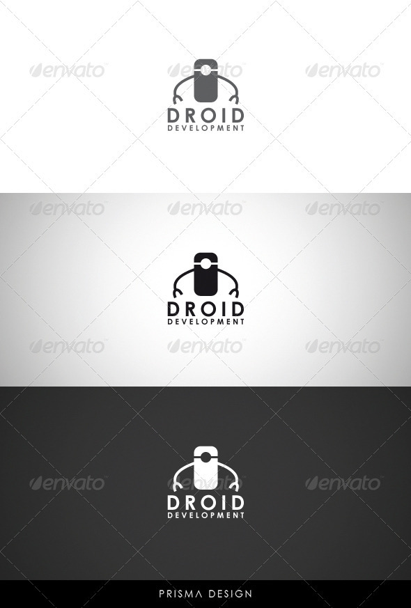 Droid Development Logo - Objects Logo Templates