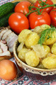 boiled potatoes and vegetables - PhotoDune Item for Sale