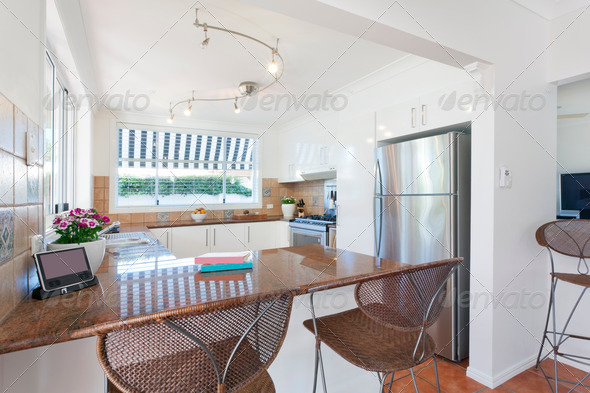 Modern kitchen - Stock Photo - Images