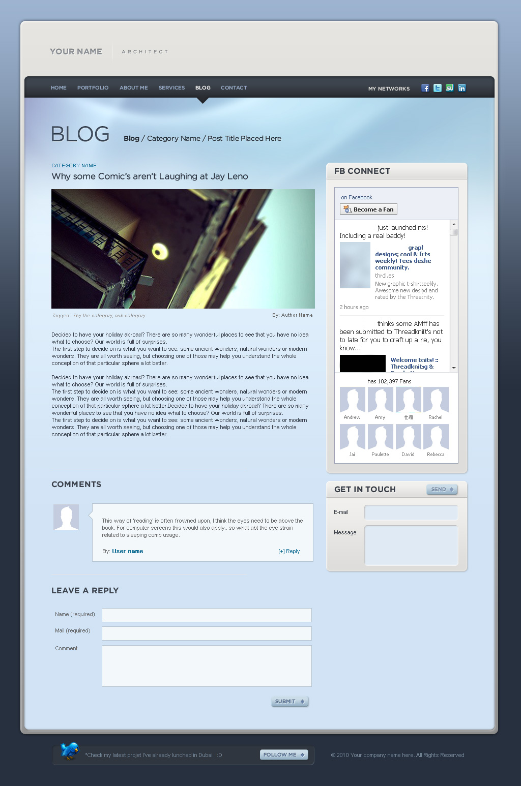 Folio web 2.0 style / HTML VERSION /