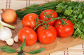 fresh tomatoes on a branch - PhotoDune Item for Sale