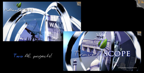 VideoHive Political & Travel Scope Talk show Intro 2484326