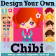 Chib Girl Generator Creation Kit Vector Pack - GraphicRiver Item for Sale