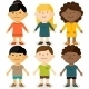 Multicultural Children - GraphicRiver Item for Sale