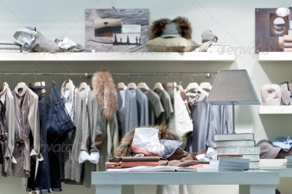 PhotoDune Internal clothing retail store 2545483