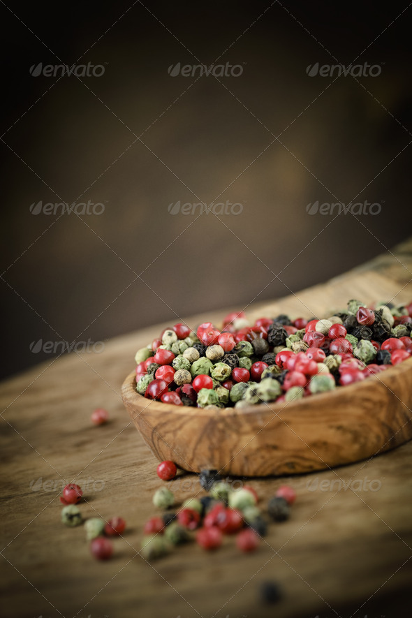 Pepper variety - Stock Photo - Images