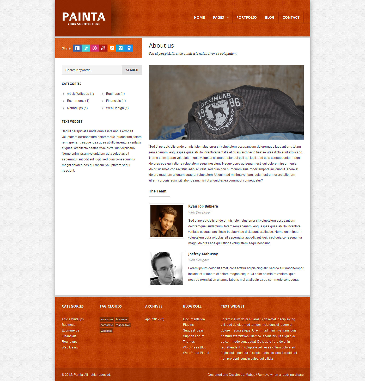 Painta: Business WordPress Theme