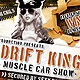 Muscle Car Show flyer - GraphicRiver Item for Sale