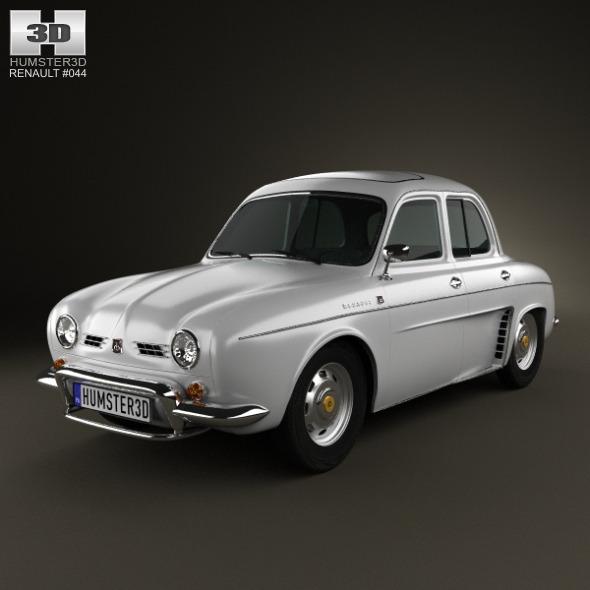 3DOcean Renault Ondine Dauphine 1956-1967 2547134