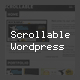 Scrollable Wordpress - ThemeForest Item for Sale