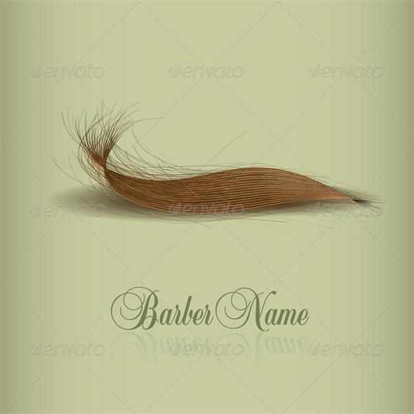 Hair logo for your design. vector illustration - Miscellaneous Vectors