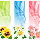Flower banner - GraphicRiver Item for Sale