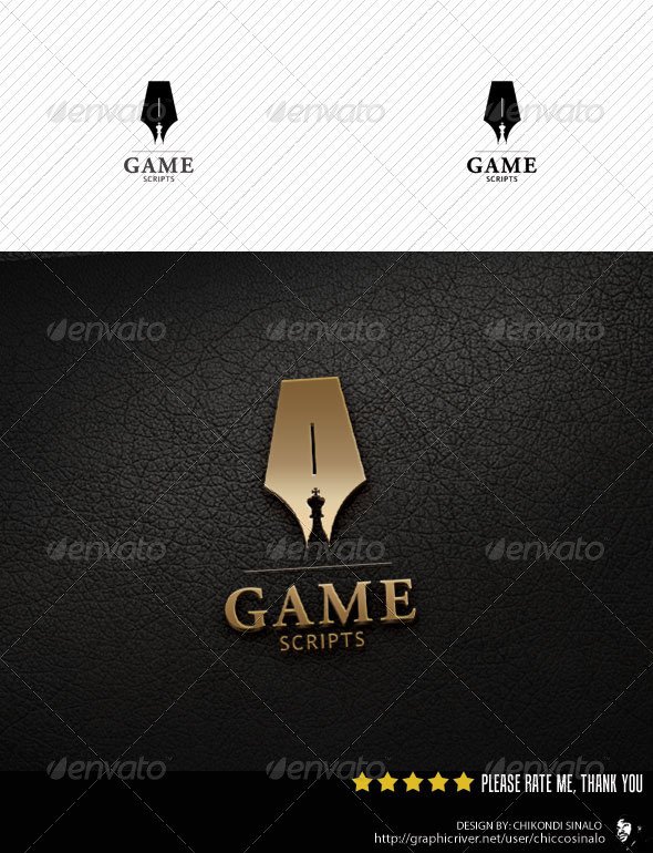 Game Scripts Logo Template - Abstract Logo Templates