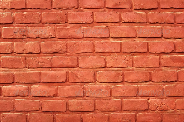 Ancient brick wall - Stock Photo - Images