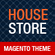 House Store Magento Theme  Free Download